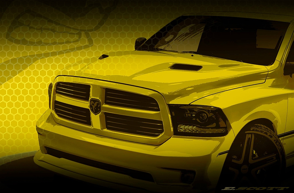 2013 Ram Truck Teaser for Woodward