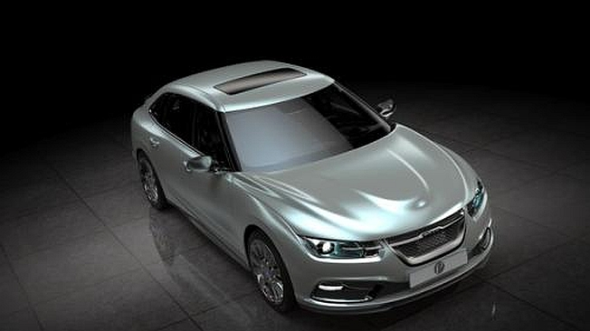 2013 Saab 9-3 Front Photo Leak