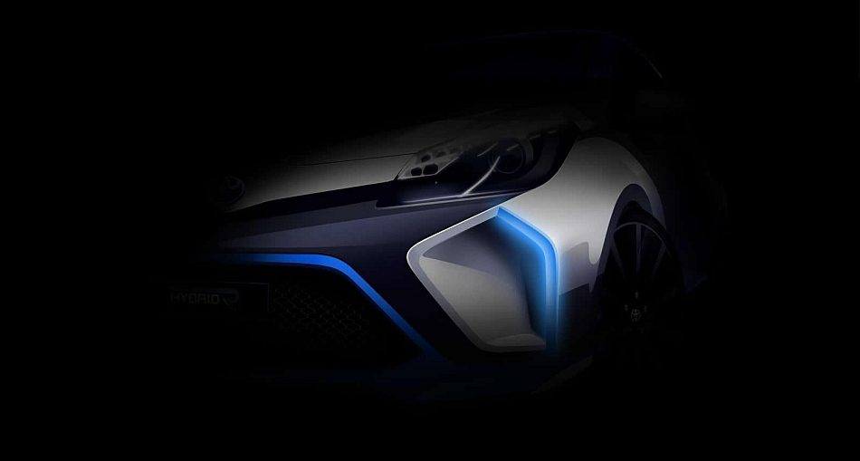 2013 Toyota Hybrid-R Concept