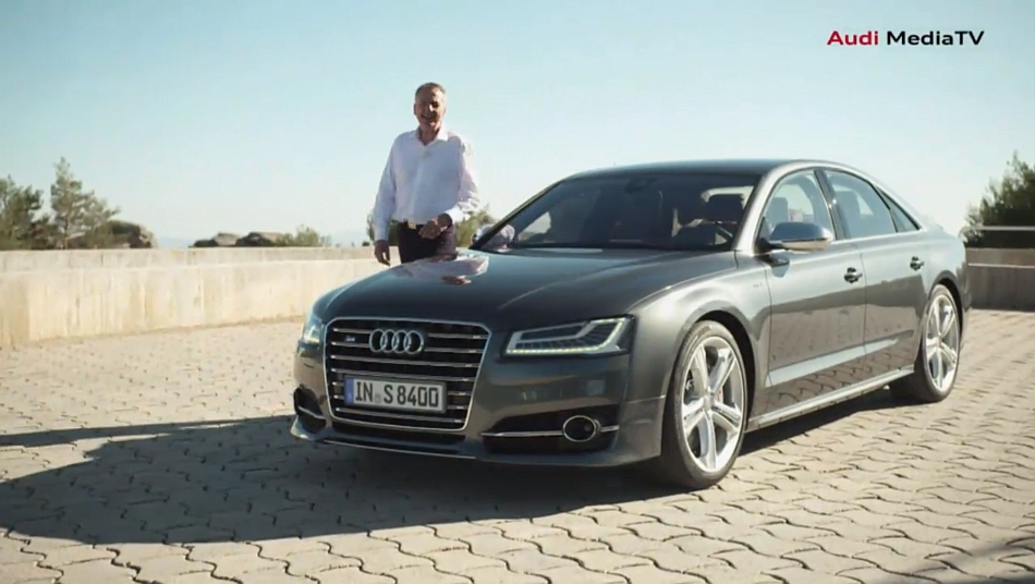 2014 Audi S8 Reveal