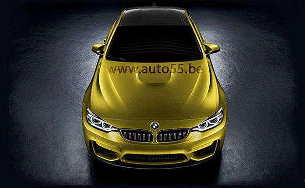 2014 BMW M4 Coupe Leaked