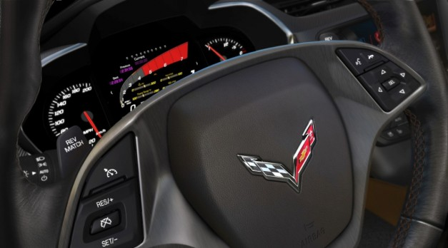 General Motors explains the 2014 Chevrolet Corvette Stingray's trick gauge cluster display