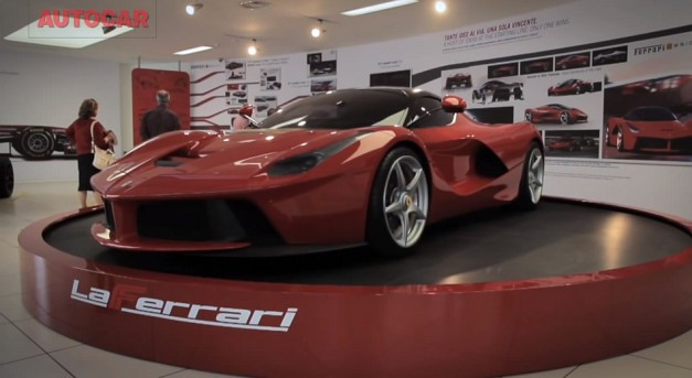 Video: Watch AutoCar get the scoop on how the design of the LaFerrari came to be