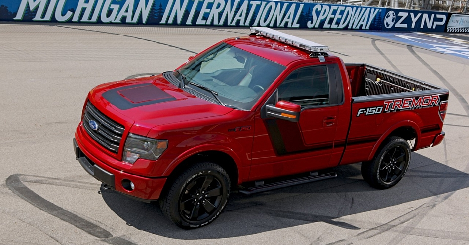 2014 Ford F150 Tremor NASCAR Truck Official Pace Car 7-8 Left Side