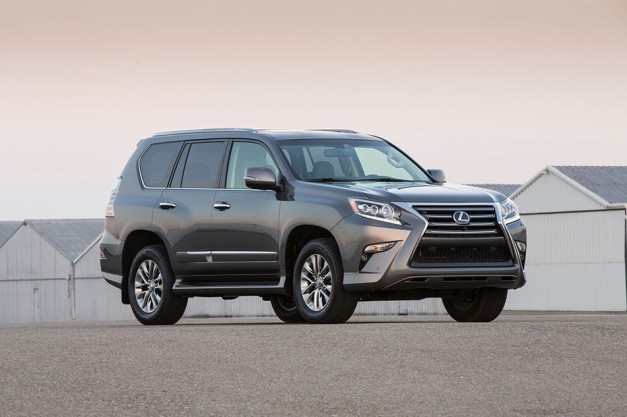 lexus updates the gx460 suv for the 2014 model year gains new luxury variant egmcartech. Black Bedroom Furniture Sets. Home Design Ideas