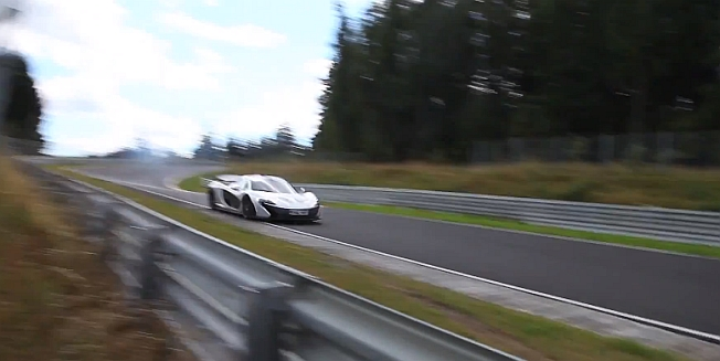2014 McLaren P1 Video on the Nurburgring