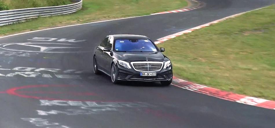 2014 Mercedes-Benz S65 AMG Test Mule