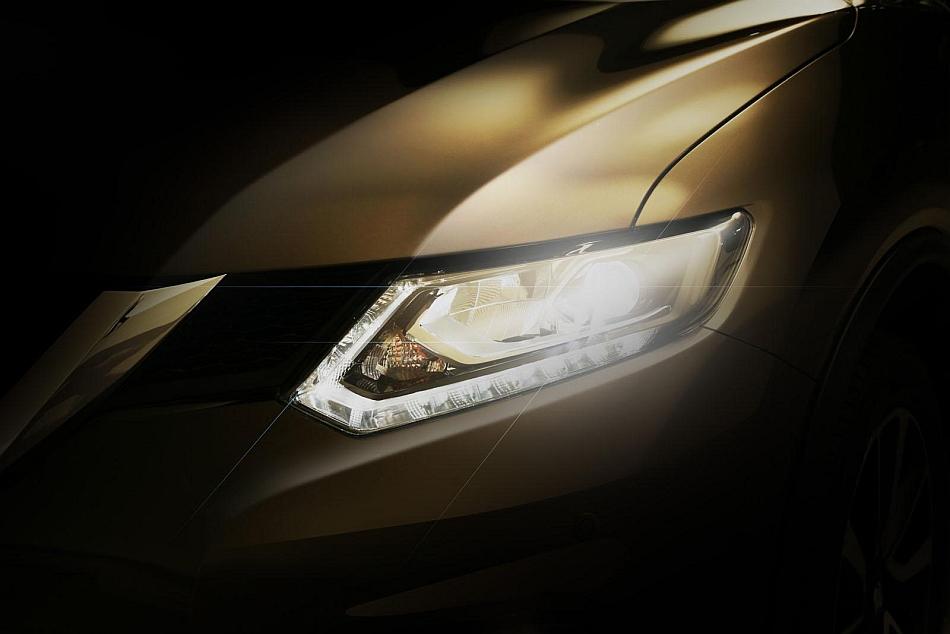 2014 Nissan Rogue Teaser