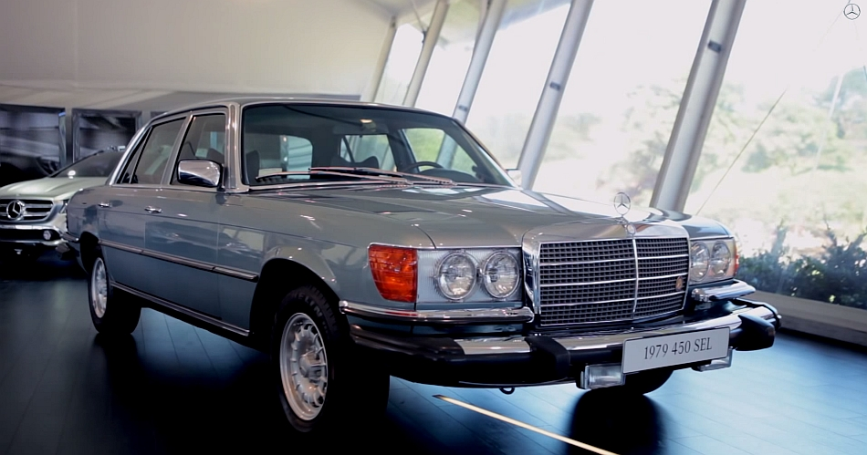 1979 Mercedes-Benz S-Class Legacy Video