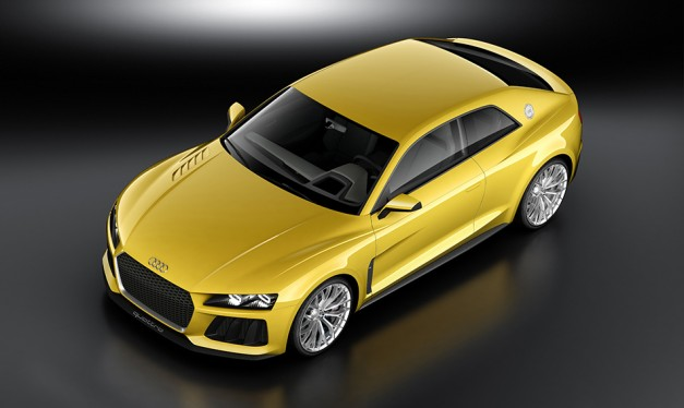 Audi reveals Sport quattro coupe Concept ahead of its debut at Frankfurt