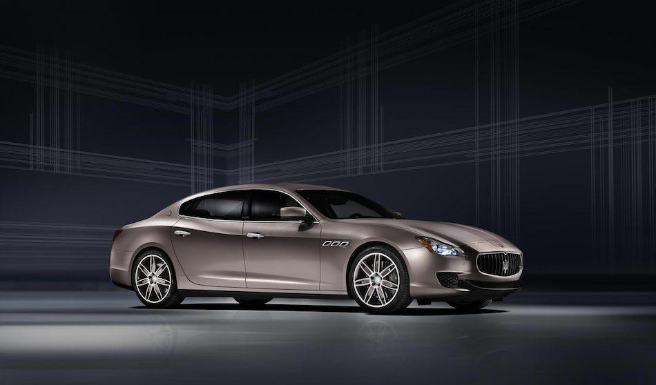2013 Maserati Quattroporte Ermenegildo Zegna Concept