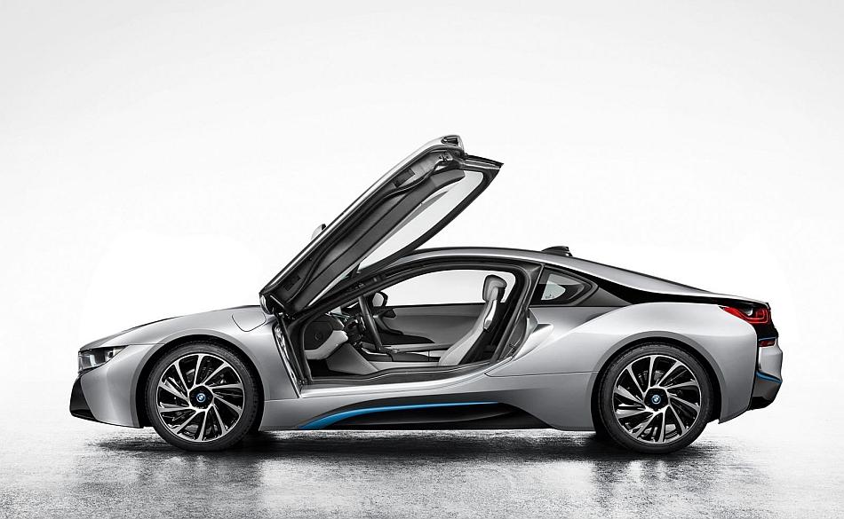 2014 BMW i8 Teaser Left