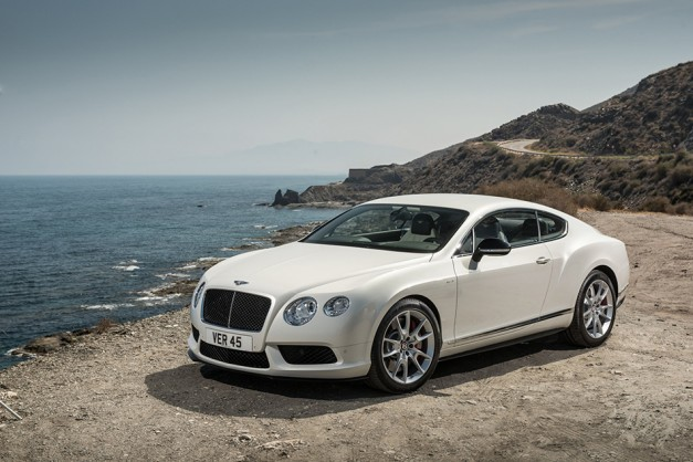 Bentley reveals 2014 Continental GT V8 S coupe and convertible for Frankfurt