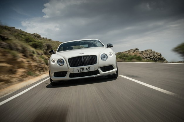 Spy Shots: Could Bentley be making an even faster Continental GT V8?