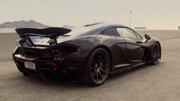 Video: Watch the McLaren put the P1 through its paces in hot weather testing