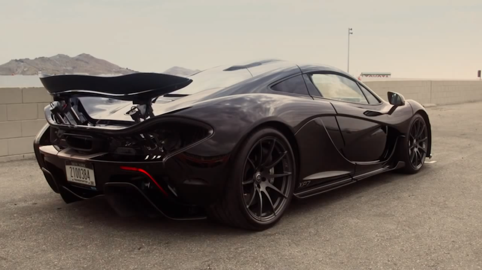 2014 McLaren P1 Hot Weather Testing Video