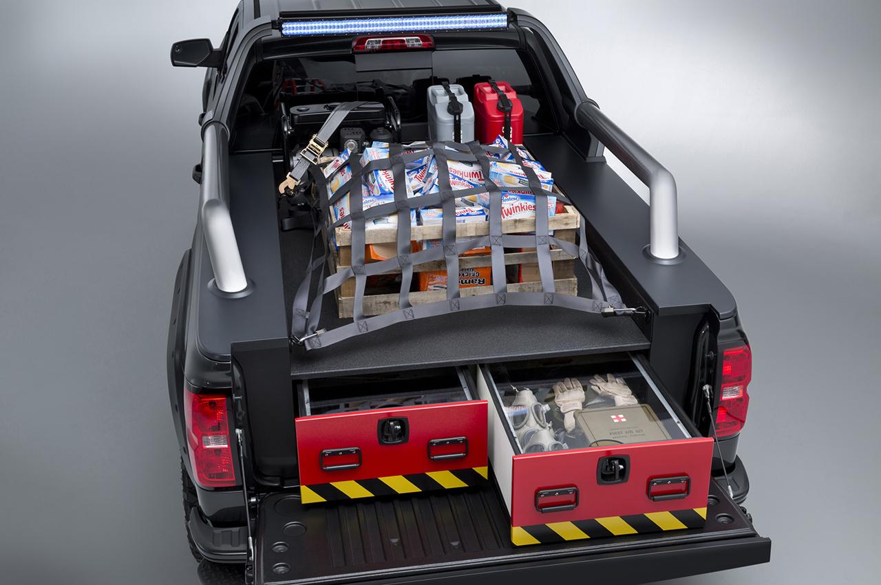 2013 Chevrolet Silverado Black Ops SEMA Concept