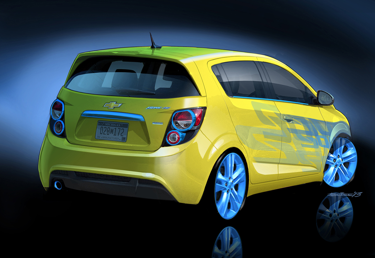 chevrolet performance sonic rs concept egmcartech. Cars Review. Best American Auto & Cars Review