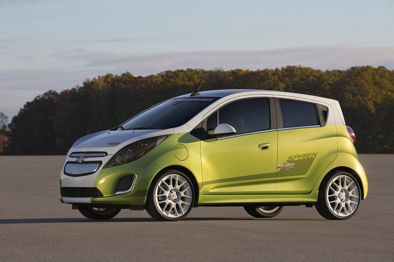 2014 chevrolet spark ev sema concept egmcartech. Cars Review. Best American Auto & Cars Review