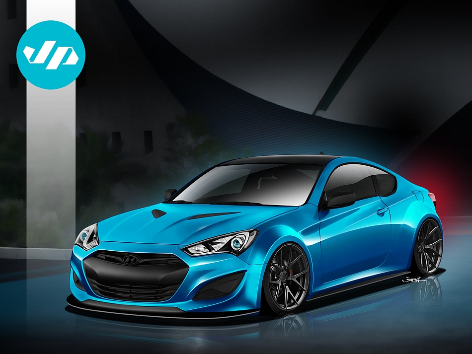 2013 Hyundai Genesis Coupe JP Edition for SEMA