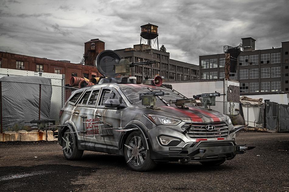 2013 Hyundai Santa Fe Sport Zombie Survival Machine