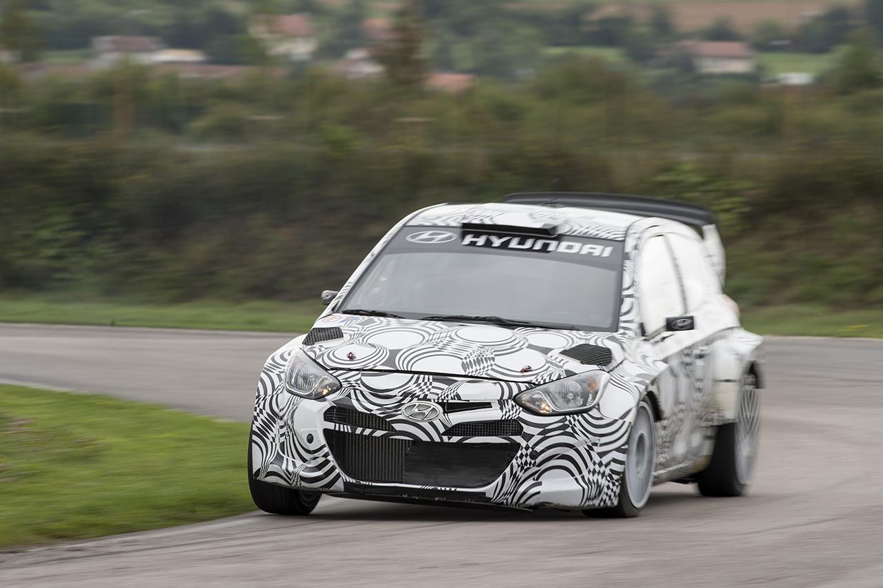 2013 Hyundai i20 WRC Car