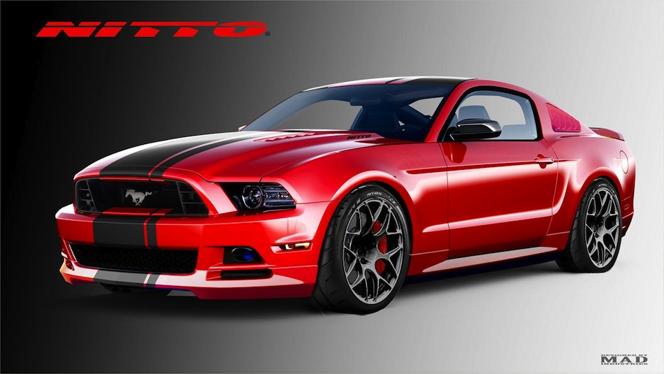 2013 Nitto Ford Mustang Concept SEMA