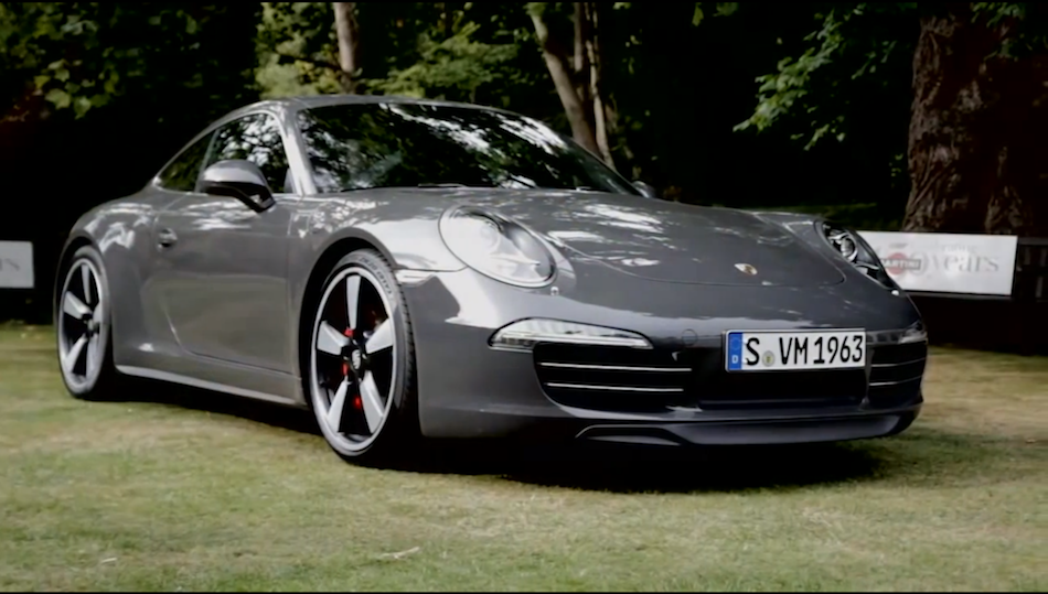 video porsche overviews their 50th anniversary edition 911 egmcartech. Black Bedroom Furniture Sets. Home Design Ideas