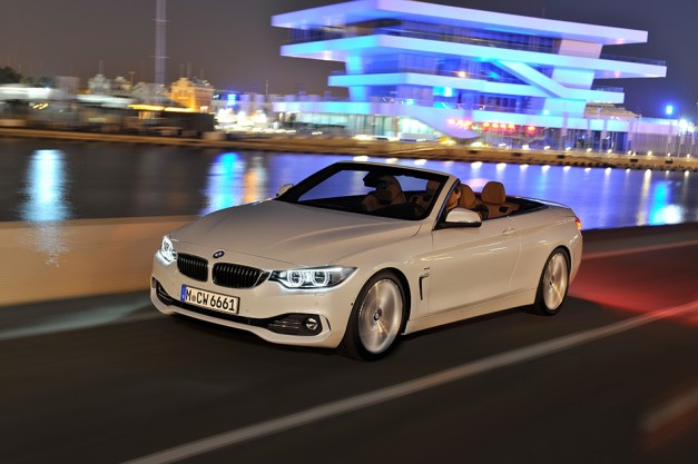 BMW reveals the 3-Series drop top successor, the all-new 2014 4-Series convertible