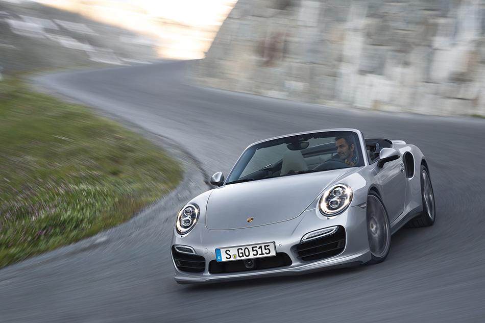 2014 Porsche 911 Turbo Cabriolet (4)