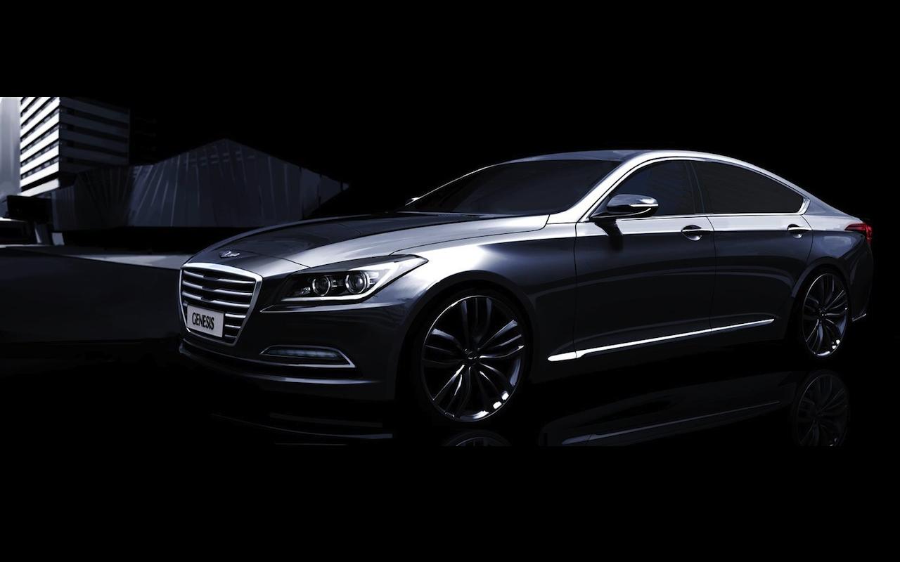 Hyundai Genesis Rendering