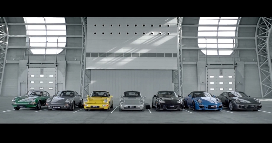 Porsche 911 50th Birthday Video Symphony