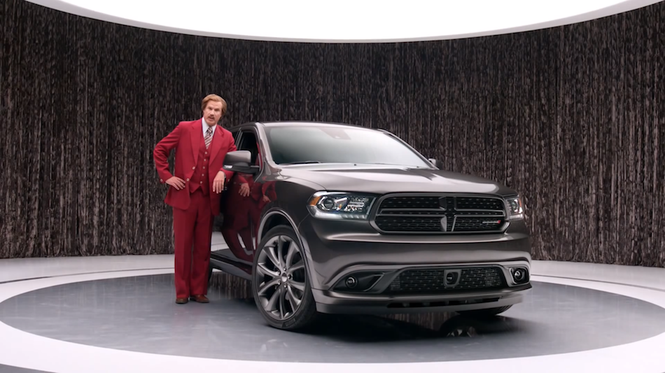 Ron Burgundy Speaks for 2014 Dodge Durango