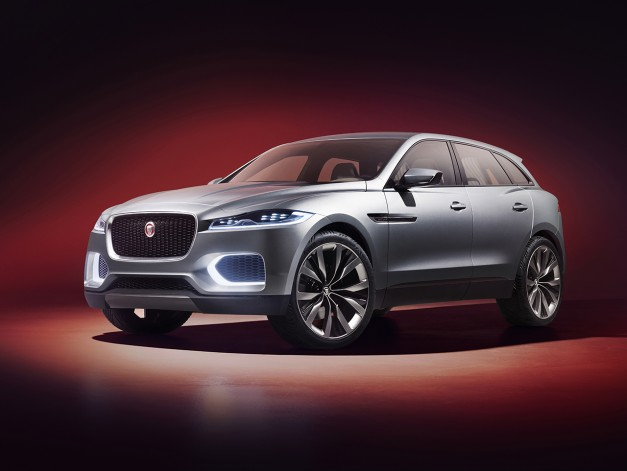 Jaguar's C-X17 Crossover Concept goes silver at Dubai