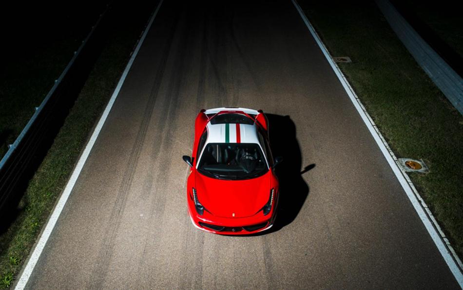 2014 Ferrari 458 Italia Niki Lauda Tribute
