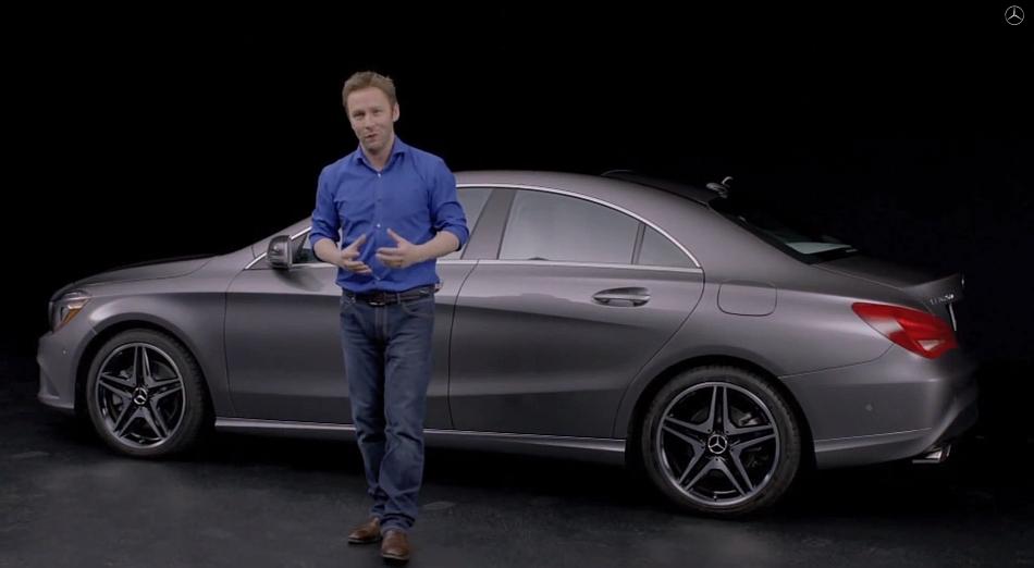 2014 Mercedes-Benz CLA Design Overview Video