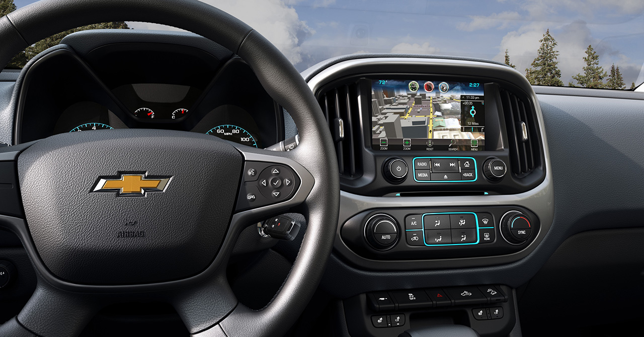 2015 Chevy Colorado Z71 Interior