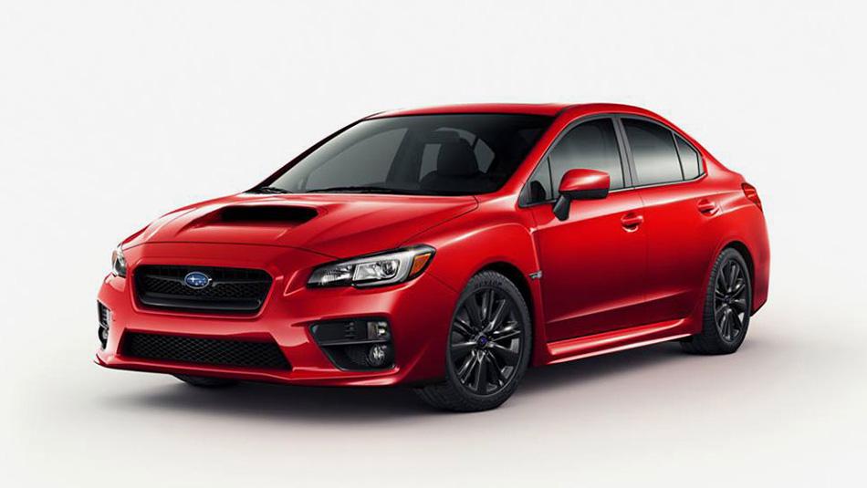 2015 Subaru WRX Leak