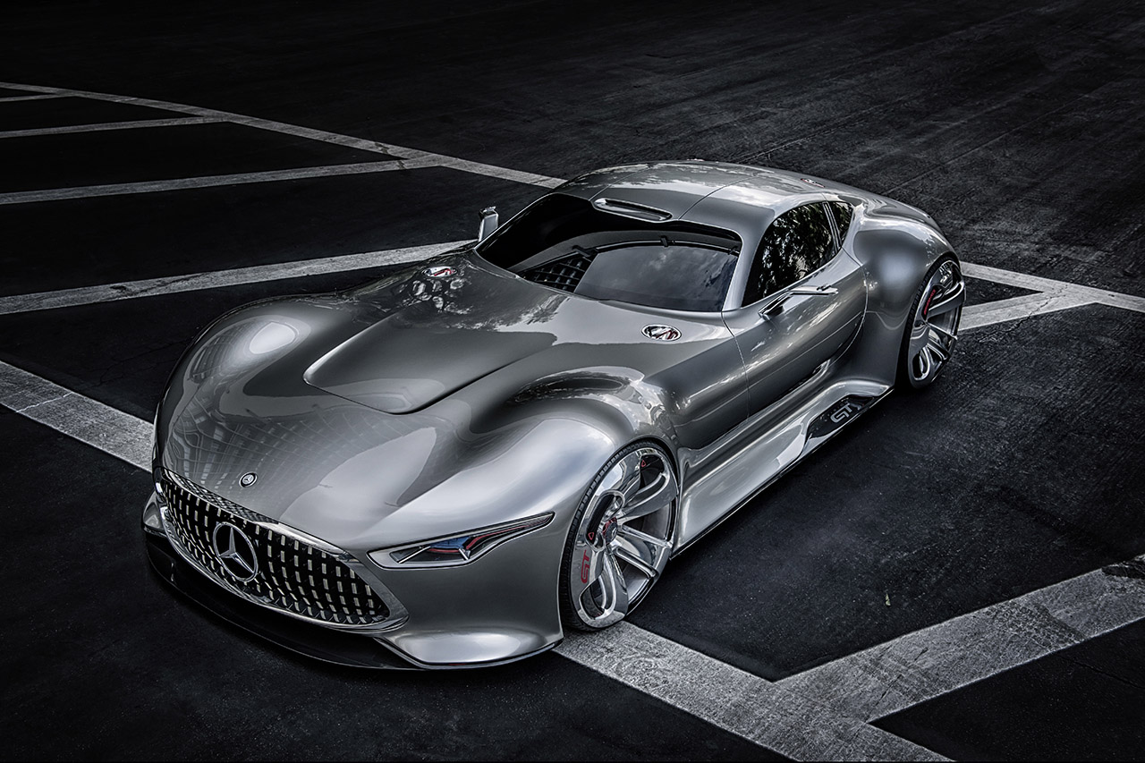 Mercedes benz amg vision gran turismo egmcartech for The latest mercedes benz