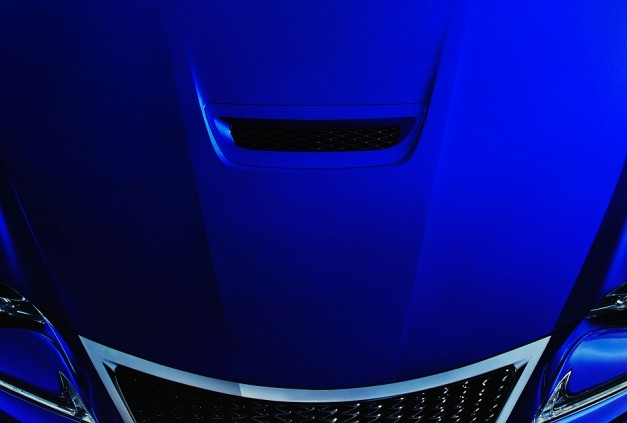 "Lexus reveals a new teaser for an 'all-new F Performance Coupe"" due in Detroit"