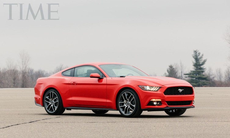 2015 Ford Mustang from TIME