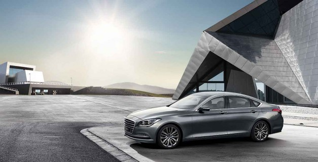 Hyundai reveals the all-new next generation Genesis sedan