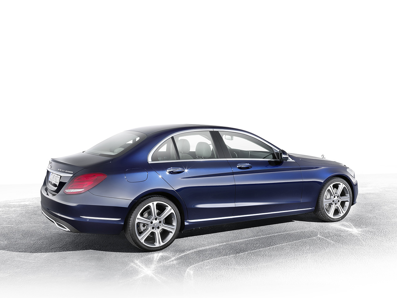 Mercedes Benz C 300 Bluetec Hybrid Exclusive Line Cavansitblau 25 on mb cls63 amg s coupe 2014