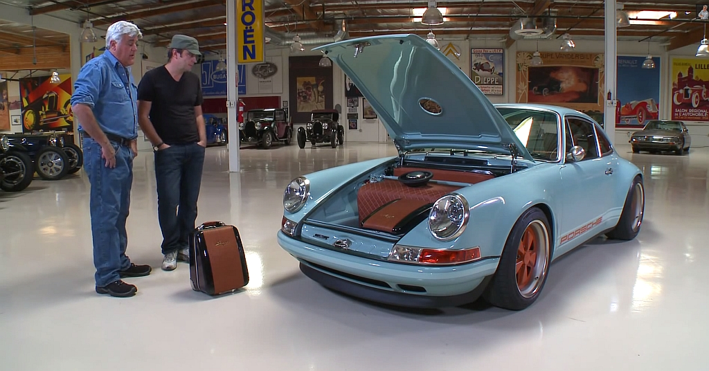 Jay Leno's Garage Singer Porsche