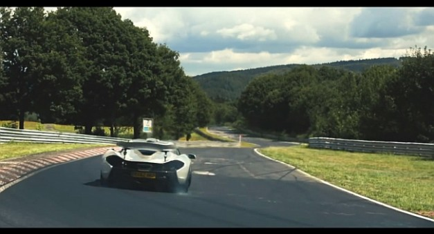 Video: Watch the McLaren P1 tear up the Green Hell