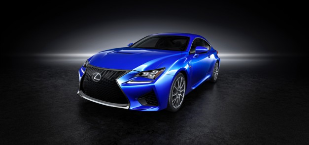 Lexus exposes the BMW M4-fighting RC F Coupe