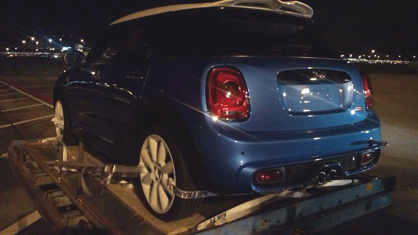 Spy Shot: Five-Door Mini Cooper S 2015