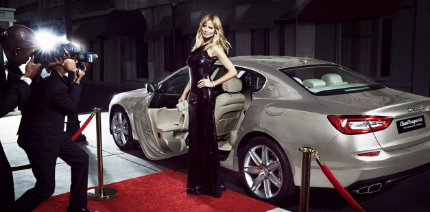Heidi Klum and Maserati team up for some promoting