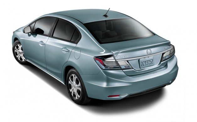honda releases civic natural gas and civic hybrid for 2014. Black Bedroom Furniture Sets. Home Design Ideas