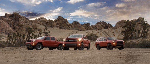 Video: Toyota details their TRD Pro truck lineup in a new video